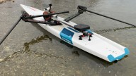 RowVista® Rowing Skid Y on own hard board SUP