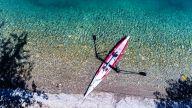 RowVista® Rowing Skid F on Airskiff 17'(517)