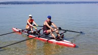 RowMotion® Rowing Skids F on MOJO 18'