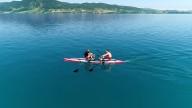 RowVista® & RowMotion® Rowing Skid F on DUDE 18'