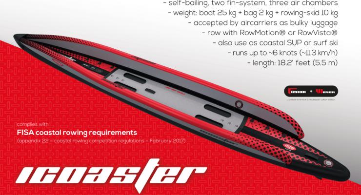 iCOASTER - The inflatable coastal rowing boat